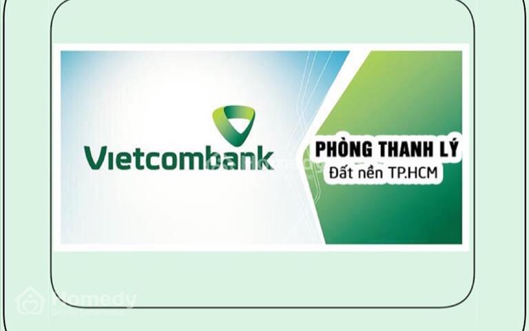 Vietcombank thanh lý 35 lô đất thổ cư 100% gần Aeon Bình Tân, giá rẻ hơn thị trường từ 10 - 15%
