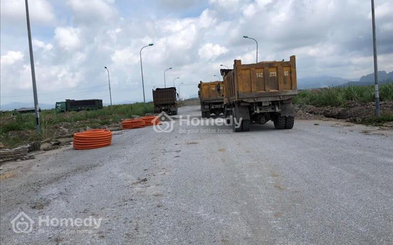 Bán ô góc mặt đường 31m khu đô thị Hà Khánh C hợp đồng mới - giá đầu tư