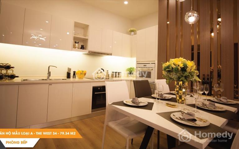Chuyển nhượng Western Capital quận 6 giá rẻ nhất thị trường, 1 tỷ 580 triệu/căn 2 phòng ngủ