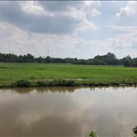 Bán đất trồng cây hằng năm mặt tiền kênh Đức Lập xã Trung Lập Hạ Củ Chi, 10500m2, 750 nghìn/m2