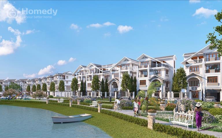 Đầu tư đất nền biệt thự liền kề KĐT Bách Việt Lake Garden, giá đầu tư cực sốc chỉ từ 1,1 tỷ/nền