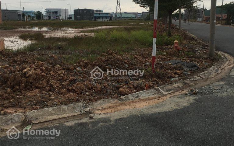 Sang lại lô đất ở đường Vườn Thơm, Bình Chánh, giá 900 triệu/105m2, sổ riêng
