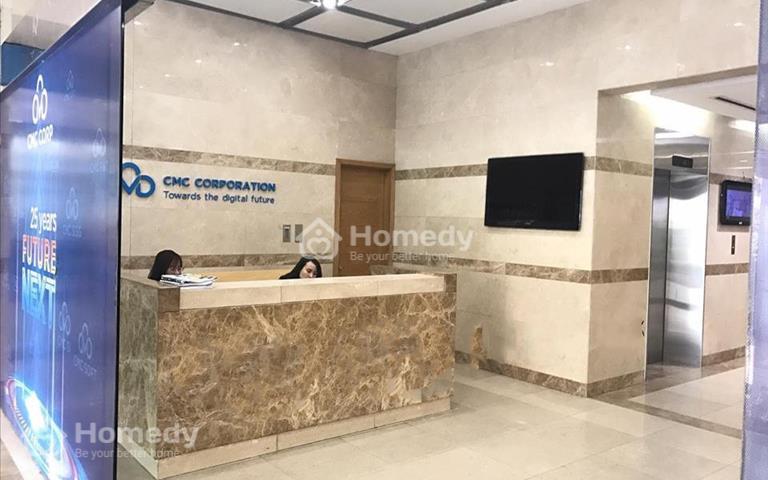 Cho thuê mặt bằng kinh doanh tại CMC Tower số 33 Duy Tân, trực tiếp chủ đầu tư giá ưu đãi