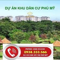 Đất nền sổ đỏ giá chỉ 4,5 triệu/m2, xây dựng tự do mặt đường 36m, Phú Mỹ