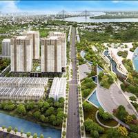 Q7 Saigon Riverside Complex mặt tiền đường Đào Trí và trước mặt là dòng sông Sài Gòn Phú Mỹ Hưng