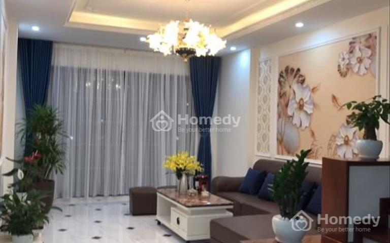 Bán nhà liền kề đẹp cao cấp dịch vụ Hà Trì - Hà Cầu - Hà Đông, 5 tầng x 55m2, hướng Tây Bắc