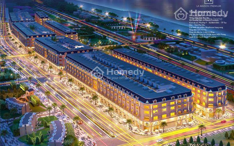 Nhận ngay biệt thự cao cấp La Maison Premium Phú Yên, hỗ trợ vay ngân hàng lên tới 25 năm