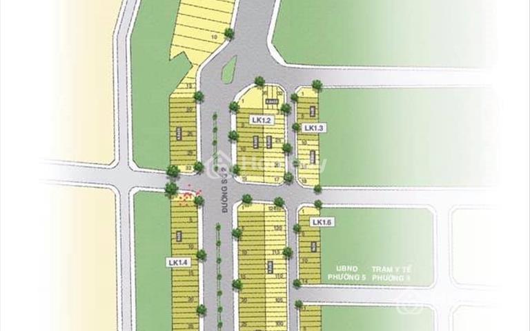 Vĩnh Long New Town đất nền sổ đỏ liền kề trung tâm thành phố Vĩnh Long, diện tích đa dạng, giá tốt