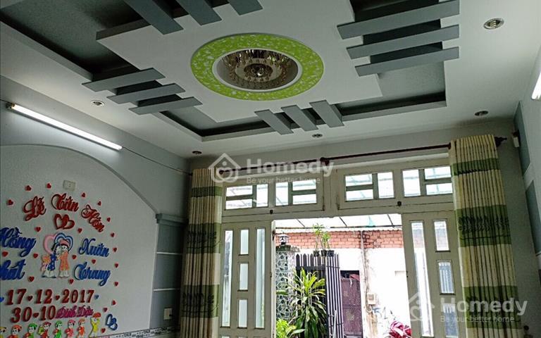 Bán nhà 1 lầu, 4x12m (48m2) ở Trung Chánh, đối diện trung tâm văn hóa quận 12, giá 1,24 tỷ