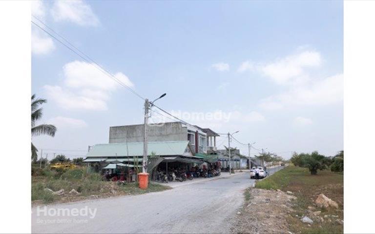 Cần bán 100m2 đất thổ cư 100%, mặt tiền Lê Thị Kim, ngay ngã ba Nguyễn Văn Bứa, Hóc Môn