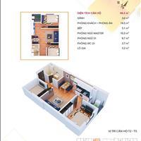 Bán căn hộ chung cư 55m2, 68m2 cuối cùng của dự án The Vesta, tầng cực đẹp, nhận nhà ở ngay