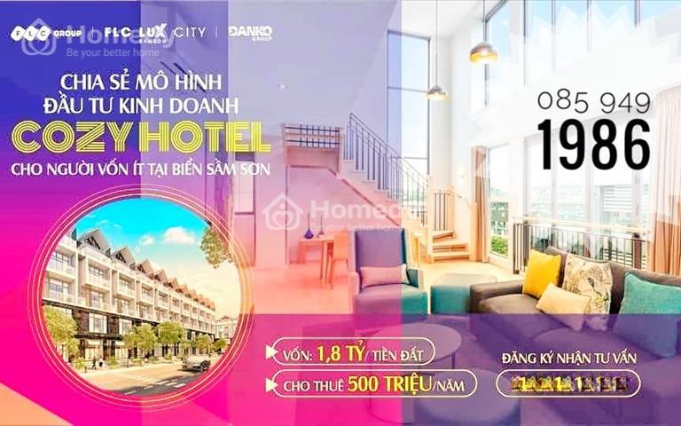 Xu hướng mới mô hình đầu tư Cozy Hotel dành cho người ít vốn tại Sầm Sơn