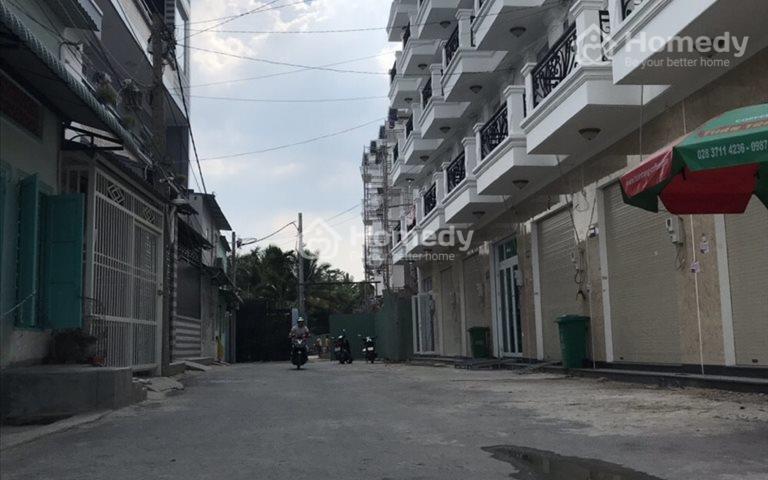 Còn căn nhà phố mặt chợ 1 trệt 1 lửng 2 lầu đường Hà Huy Giáp, quận 12, giá 3,4 tỷ/căn