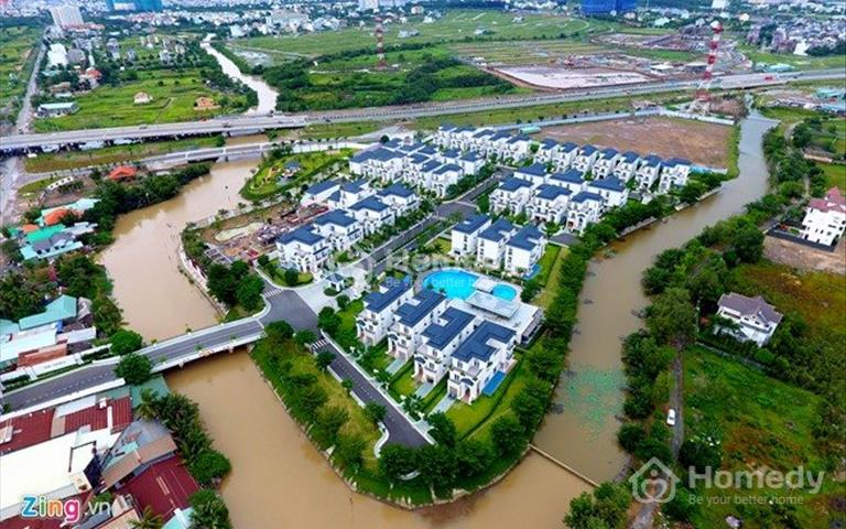 Biệt thự khu biệt lập The Venica Khang Điền - 1 trệt 2 lầu - nội thất cao cấp - có gara ô tô riêng