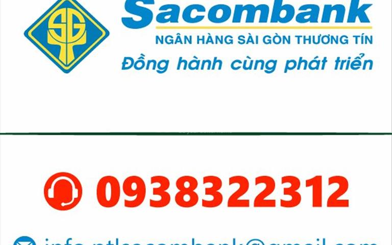 Thông báo ngân hàng Sacombank thanh lý 39 nền đất thổ cư 100% khu vực thành phố Hồ Chí Minh