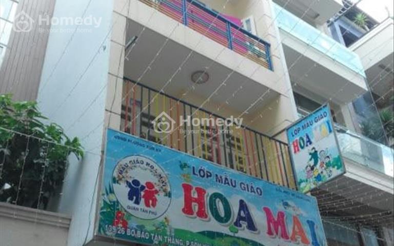 Bán nhà hẻm Bờ Bao Tân Thắng, diện tích 4 x 19m, giá 10,5 tỷ