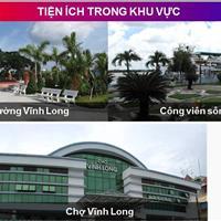 Đất nền thành phố Vĩnh Long, diện tích 90m2, 100m2, 200m2, sổ đỏ phân lô, dân cư hiện hữu, gần chợ