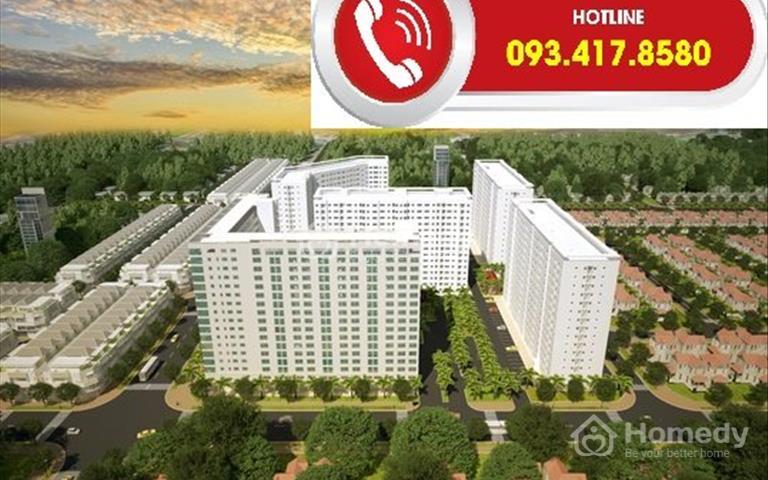 Nhượng căn hộ Green Town Bình Tân 2 phòng ngủ, quý 3/2019 nhận nhà ở ngay, sổ hồng vĩnh viễn