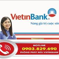 Ngân hàng Vietinbank hỗ trợ thanh lý 50 nền dự án Bình Phú 2 hoàn thiện 100%, sổ hồng riêng