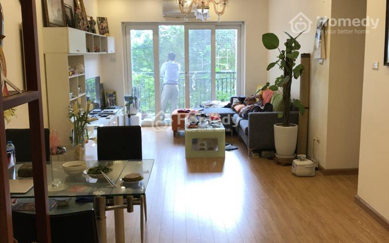 Cho thuê căn hộ chung cư Valencia khu đô thị Việt Hưng, 2 phòng ngủ full đồ 8 triệu/tháng