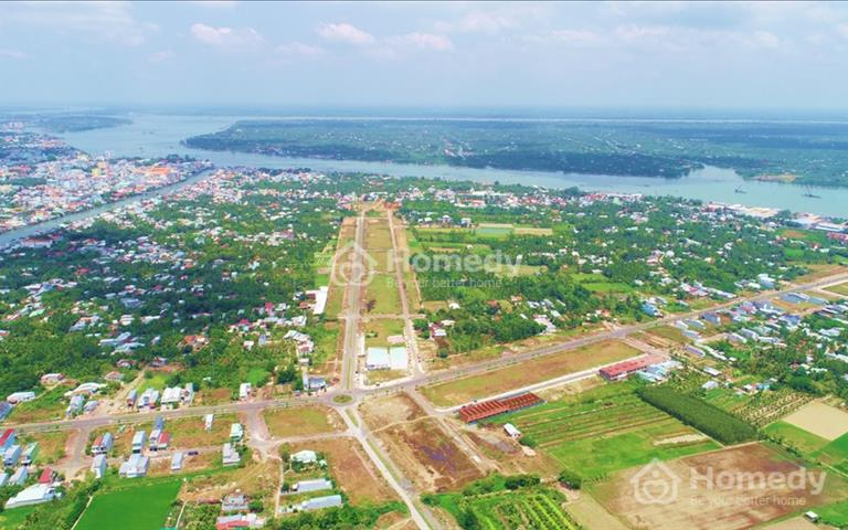 Đất sổ đỏ thành phố Vĩnh Long New Town giá chỉ 800 triệu/nền