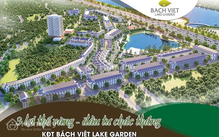 Dự án khu đô thị Bách Việt - Mảnh đất vàng cho các nhà đầu tư