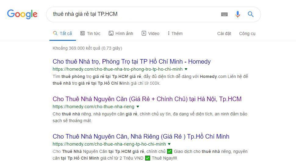 đăng tin cho thuê nha tphcm