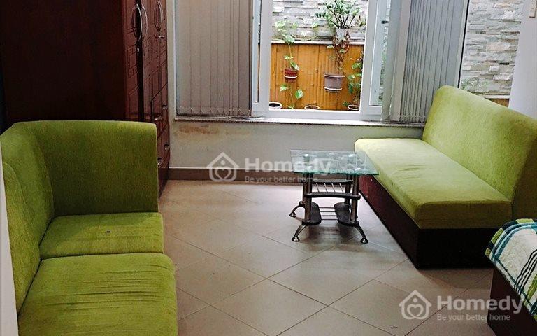 Cho thuê căn hộ 1 phòng khách, 1 phòng ngủ full nội thất Lê Văn Sỹ, Quận 3
