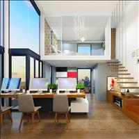 Kinh doanh và ở với hình thức căn hộ gác lửng mặt tiền phố thương mại Quận 7, giá 1,6 tỷ