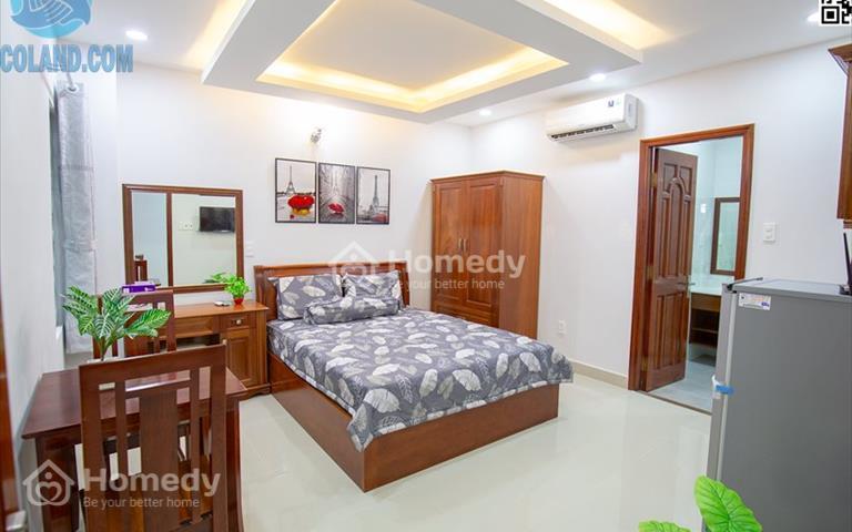Căn hộ Studio mới xây cho thuê ngắn hoặc dài hạn, gần nhà thờ Vườn Xoài Lê Văn Sỹ quận 3