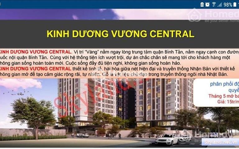 690 triệu nhà ở xã hội Kinh Dương Vương Bình Tân, ngân hàng cho vay 70% giá trị căn hộ, lãi suất 5%