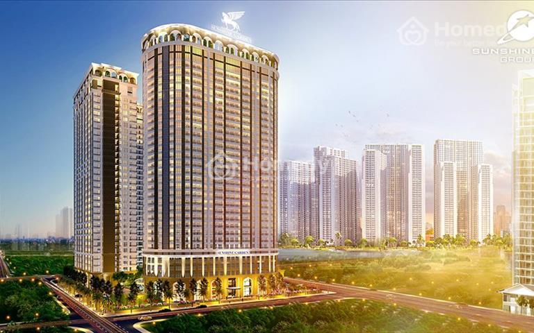 Chỉ cần đóng trước 10% giá trị căn hộ nhận ngay chung cư cấp Sunshine Garden, CK 5% hỗ trợ vay 75%