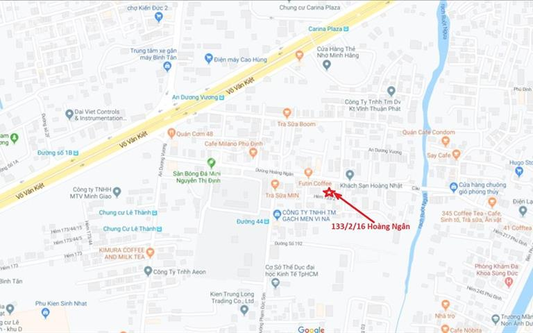 Cho thuê biệt thự nguyên căn đường 41 (đường Hoàng Ngân), quận 8, gần ngã giao Võ Văn Kiệt