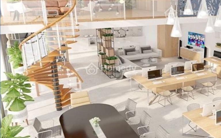 Duplex - căn hộ văn phòng cao cấp phố thương mại - quận 4