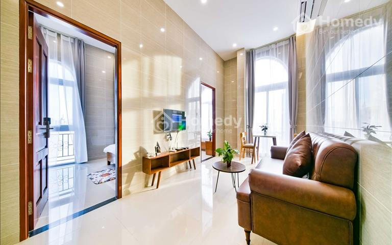 Căn hộ dịch vụ Phú Nhuận, sạch sẽ, xây mới 100%, full nội thất, nhiều tiện ích xung quanh