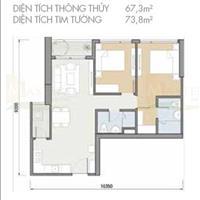 Cần bán căn hộ 2 phòng ngủ - B1x.09 Masteri An Phú, giá 3.65 tỷ