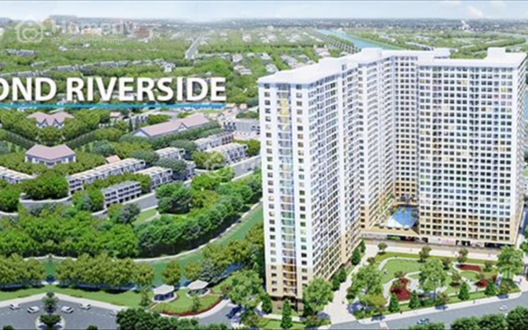 Căn hộ Diamond Riverside 2 phòng ngủ, 74m2 chỉ từ 1.6 tỷ, tháng 6 2020 bàn giao