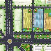 Bán đất nền sổ đỏ mặt tiền Quốc lộ 55 Long Điền, giá 10.5 triệu/m2 trong khu dân cư Golden City