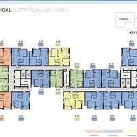 Cần bán căn hộ 3 mặt view sông, Aurora Residence 1PN, A04 tầng cao, 50,7m2, chênh lệch 130 triệu