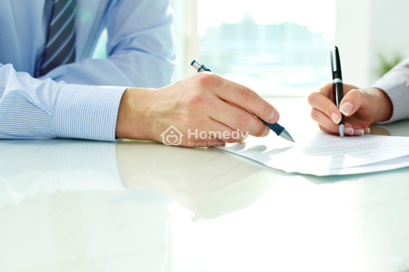 làm hợp đồng khi mua nhà đất