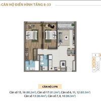 Căn hộ Saigon Royal 2 phòng ngủ, 85m2 view đẹp cần bán, giá 7.5 tỷ
