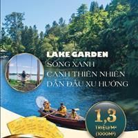 Đất nền Bungalow - View hồ rộng 60 ha - Diện tích từ 1000m2 - 1,1 triệu/m2 - Đất sổ đỏ công chứng