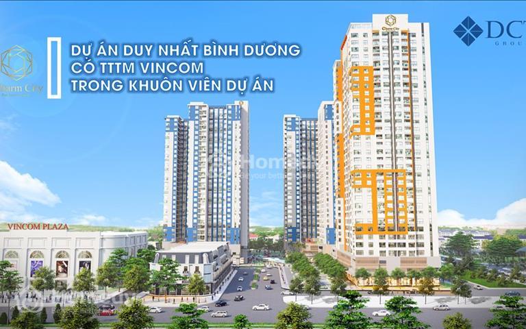 Booking giai đoạn 1 sở hữu căn hộ ngay trung tâm thương mại Vincom Bình Dương