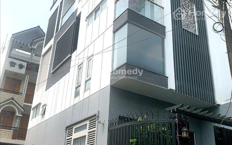 Nhà 3 mặt tiền kinh doanh đường nội bộ Tây Thạnh, 5x14m, 4 tấm, giá 7.3 tỷ