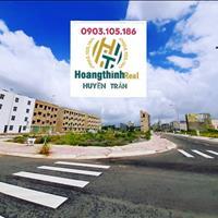 Lô góc 2 mặt tiền ngã tư chợ trục đường lớn 22m dự án Phú Hồng Thịnh 10, Bình Dương