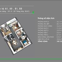 Chuyển nhượng căn hộ Homyland Riverside, 2 - 3 phòng ngủ căn thật, giá thật, nhiều căn chọn