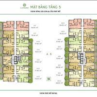 Căn hộ có sân vườn riêng 30m2, có 2 phòng ngủ, 2WC, cực kỳ thoáng mát và mát mẻ, giá 2.375 tỷ