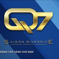 Cần bán căn hộ Q7 Saigon Riverside Hưng Thịnh giá từ 1,8 tỷ/căn, VIP 50 tiện ích, vị trí ven sông