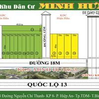 Ra gấp 4 nền ngay ngã tư KCN Minh Hưng 3, Chơn Thành đúng giá rẻ nhất thị trường 550 triệu, 200m2