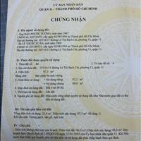 Bán nhà nhỏ xinh 107/16/11, Lê Thị Bạch Cát, phường 13, quận 11 3 tầng
